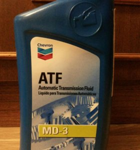 Масло для АКПП Chevron ATF MD-3 (1литр)