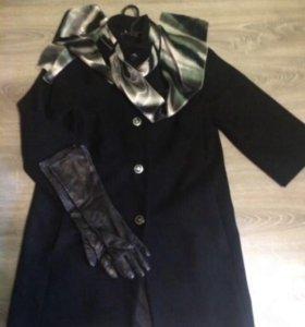Пальто демисезонное (шерсть/вискоза)