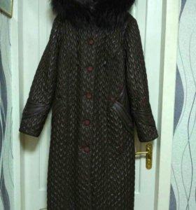 Пальто зимнее, торг уместен
