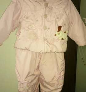 Куртка и полукомбинезон, 86 размер,демисезон