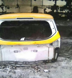 Крышка багажник на Форд Фокус 3 универсал