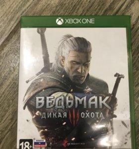 Ведьмак дикая охота Xbox one