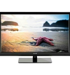 LED телевизор DNS S42DE55 106см FULL HD отлич.сост