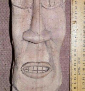 Маска деревянная