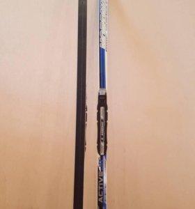 лыжный комплект (лыжи, палки, чехол, ботинки)