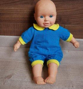 Кукла-мальчик,мягконабивная 35см