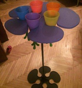 Стол стаканы детский