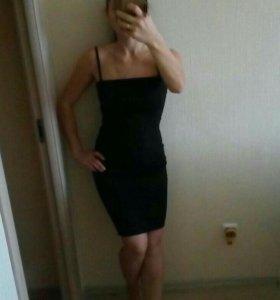 Черное платье 42