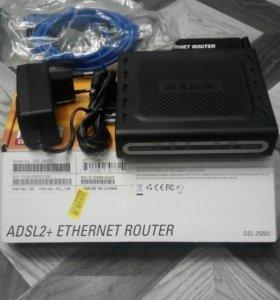 ADSL2+ethernet router