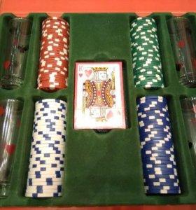 ♠️♥️♦️♣️ Набор для игры в покер со стопками