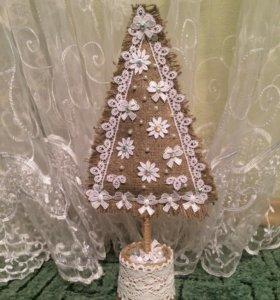 Новогодняя ёлка, украшение, декор, подарок