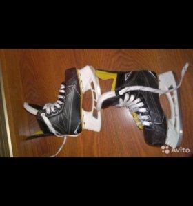 хоккейные коньки bauer s 160