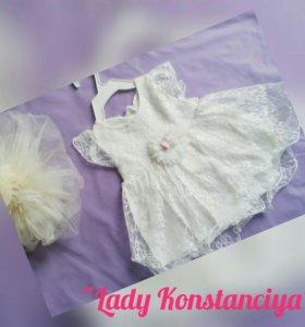 Платье малышке