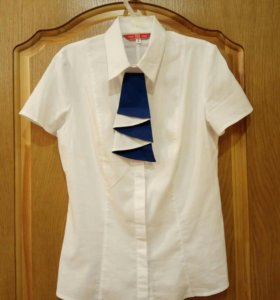 Блуза, рубашка белая 44 s