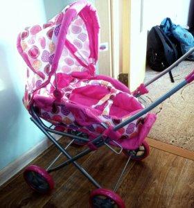 Детская НОВАЯ коляска для кукол