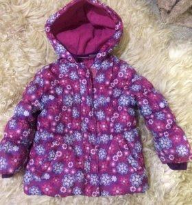 Куртка тёплая 92-98