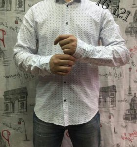 Рубашка стрейч новая