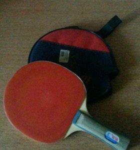 Ракетка с чехлом+мяч(Торг)