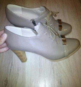 Новые туфли 40