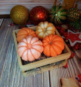 Мыло ручной работы мандарин