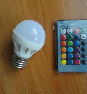 Светодиодная лампа RGB