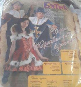Карнавальные костюмы мушкетеров