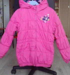 Куртка для девочки. На рост 122-134