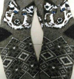 Новые Шерстяные носки