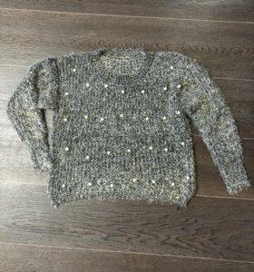 Новый свитер зефирка