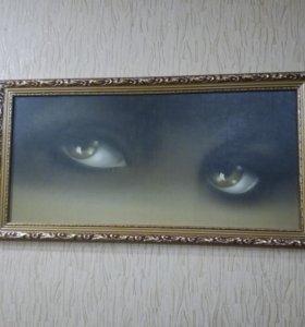Картина в восточном стиле