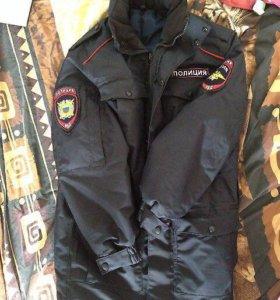 Демисезонная куртка Полиции и Ватники новые