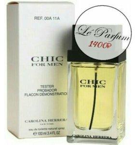 "TESTER CAROLINA HERRERA ""CHIC FOR MEN"", 100 ML"