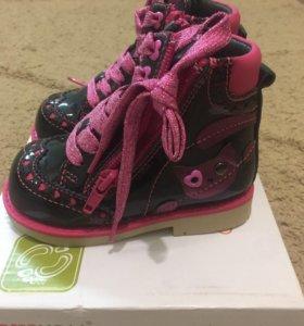 Новая ортопедическая обувь для девочки!!!
