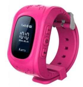 Smart Baby Watch Q50. Детские часы с GPS трекером