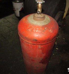 Газовый пропановский баллон емкость 50 литров