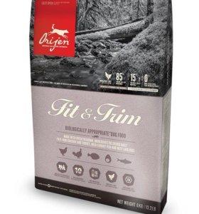 Корм для собак Orijen Fit&trim 11,4 кг