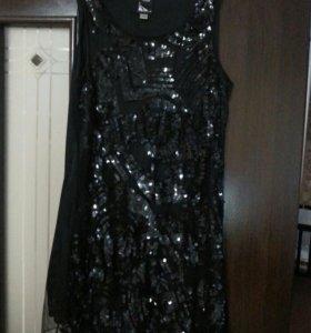 Платье,паедки с шифоном