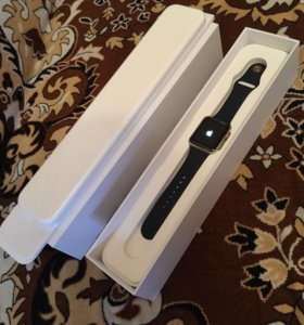 Apple Watch series 1 42mm midnight gold