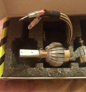 Светодиодные лампы Н3 новые