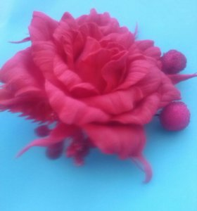 Резиночки,заколочки с цветами