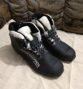 Ботинки лыжные 41размер