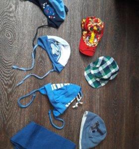 Шапочки,кепки,шарф