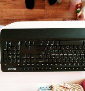 Клавиатура и мышка безпроводная