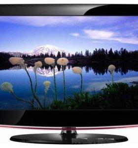 """ЖК LED телевизор Геленджик 16""""-22"""" с цифр.каналами"""