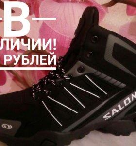Ноаые зимние кроссовки