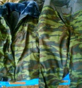 Военный зимний костюм
