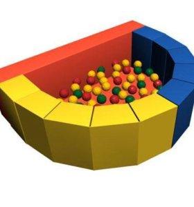 Сухой бассейн с шариками Долька ДМФ-МК-12.47.00
