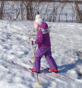 Детские беговые лыжи