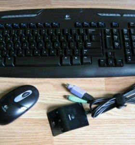 Беспроводная Клавиатура и мышь