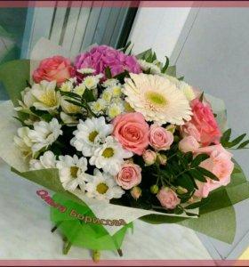 Цветы на День Рождения,Юбилей,Свадьбу